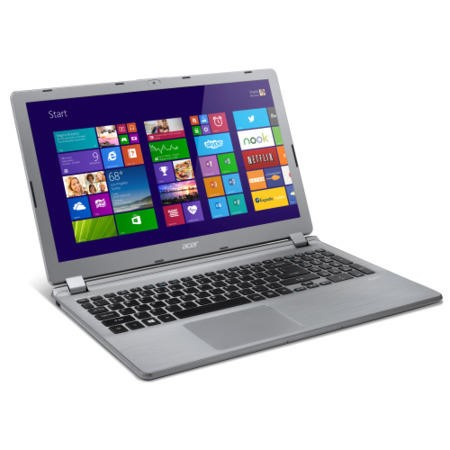 Refurbished Grade A1 Acer Aspire V5-573 4th Gen Core i7 4GB 1TB Windows 8.1 Laptop in Silver