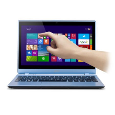 Refurbished Grade A1 Acer Aspire V5-132P 4GB 500GB 11.6 inch Touchscreen Windows 8.1 Laptop in Blue