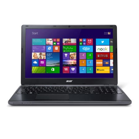 Refurbished Grade A1 Acer Aspire E1-570 Core i3 4GB 750GB Windows 8.1 Laptop in Black