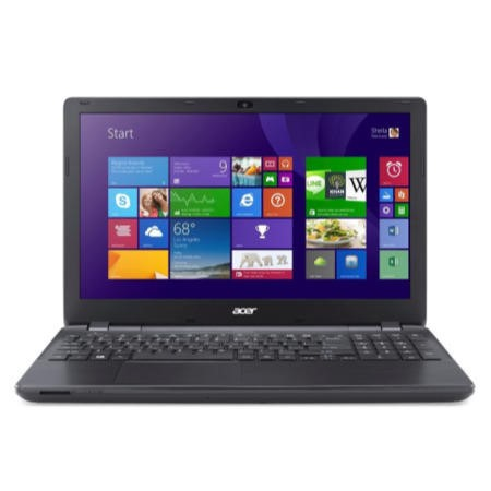 GRADE A1 - As new but box opened - Acer Aspire E5-511P Pentium Quad Core 4GB 500GB Windows 8.1 Touchscreen Laptop in Black