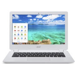 "A2 Refurbished Acer CB5-311 13.3"" NVIDIA Tegra K1 Mobile processor 2GB 16GB SSD Wifi Chromebook White Shared BT 4.0 Card Reader Google OS"