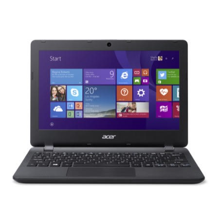 GRADE A1 - As new but box opened - Acer Aspire ES1-111M 2GB 32GB SSD 11.6 inch Windows 8.1 Laptop in Black