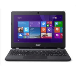 Acer Aspire ES1-111M Celeron N2840 2GB 32GB SSD 11.6 inch Windows 8.1 Laptop in Black
