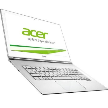 "GRADE A1 - As new but box opened - Acer Aspire S7-393 Intel Core i7-5500U 8GB 256GB SSD Windows 8.1 13.3"" Ultrabook Laptop - Glass White"
