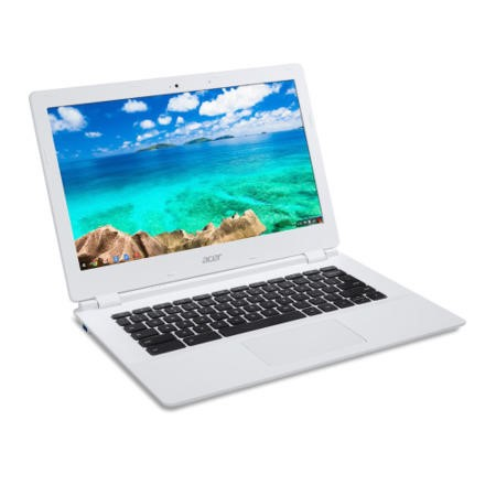 "ACER CB5-571 Intel Celeron 3205U 2GB 32GB Wifi 15.6"" Chromebook White"