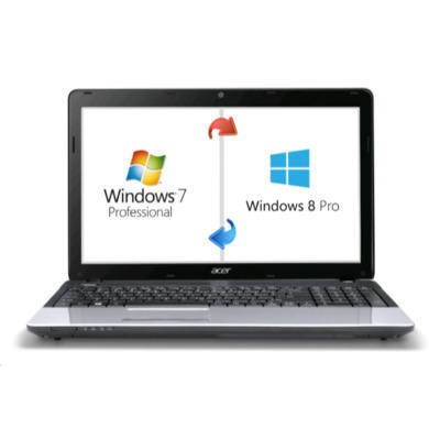 Refurbished Grade A1 Acer TravelMate P253 Core i3 4GB 500GB Windows 7 Pro Laptop With Windows 8 Pro Upgrade