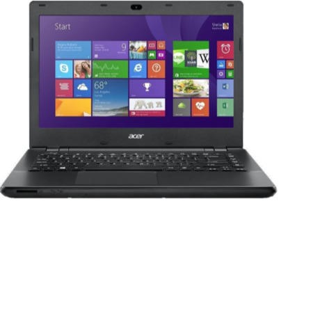 "GRADE A1 - As new but box opened - Acer TravelMate P246 Core i3-4005U 4GB 500GB DVDSM 14"" Windows 7/8.1 Professional Laptop"
