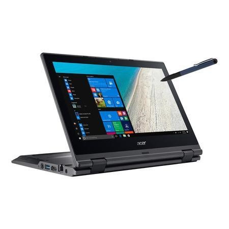 NX.VG0EK.013 Acer TravelMate Spin B118-RN Pentium N4200 4GB 64GB 11.6 Inch Windows 10 Professional Laptop
