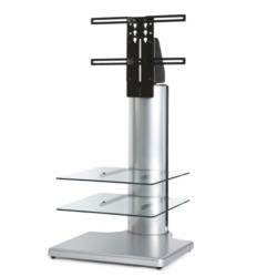 Off The Wall Origin II S1 Silver TV Stand - Up To 32 inch