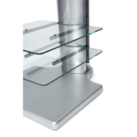 Off The Wall Origin II S2 Silver TV Stand - Up To 55 inch