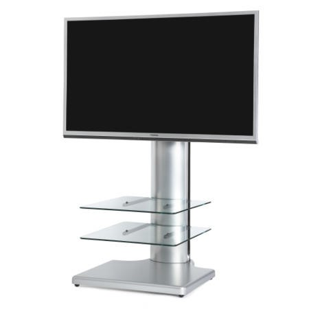 "Off The Wall Origin II S2 TV Stand for up to 55"" TVs - Silver"
