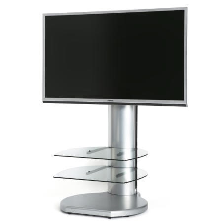 "Off The Wall Origin II S3 TV Stand for up to 32"" TVs - Silver"