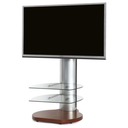 "Off The Wall Origin II S4 TV Stand for up to 55"" TVs - Cherry"