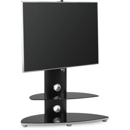 "Alphason OSMB800/2-S Osmium TV Stand for up to 47"" TVs - Black"