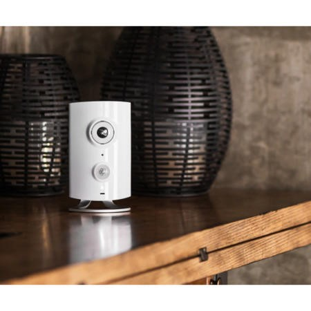 Piper Night Vision Security Camera in White