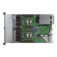 "Hewlett Packard HPE ProLiant DL360 Gen10 SMB Network Choice - Server - rack-mountable - 1U - 2-way - 1 x Xeon 4208 / 2.1 GHz - RAM 16 GB - SAS - hot-swap 2.5"" - no HDD - GigE - monitor_ none"