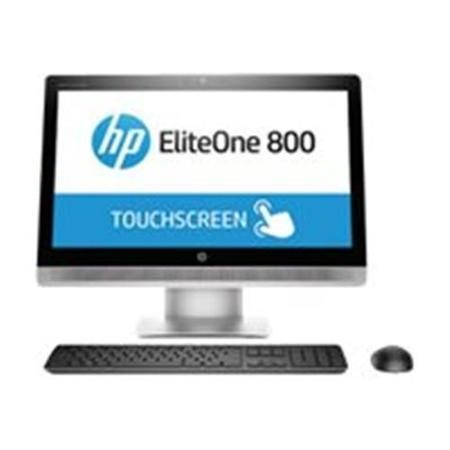 GRADE A1 - HP 800 G2 Core i5-6500 8GB 1TB DVD-RW 23.8 Inch Windows 10 Professional Touchscreen All In One Desktop