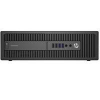 Hewlett Packard HP EliteDesk 800 G2 Core i7-6600U 3.4GHz 8GB 256GB SSD DVD-RW Windows 7 Professional Desktop