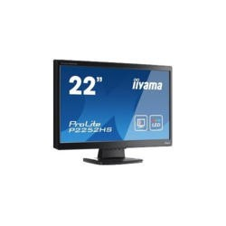 "Iiyama 22"" LED-Backlit Full HD 1920 x 1080 16_9 Black Bezel 2 x 1W Built-In Speakers Monitor"