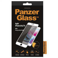PanzerGlass iPhone 6/6s/7/8 White - Privacy Screen Protector