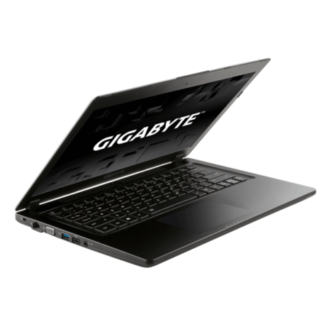 Gigabyte P34G V7-CF1 Core i7-7700HQ 16GB 1TB + 256GB SSD GeForce GTX 1050 14 Inch Windows 10 Gaming Laptop