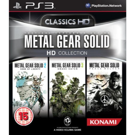 Playstation 3  - Metal Gear Solid HD Collection