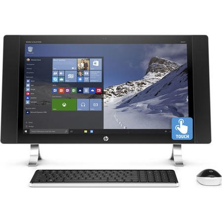 HP Envy 27-P075NA Core i7-6700T 8GB 1TB + 128GB 4GB Radeon R7 A365 Windows 10 Touchscreen All In One