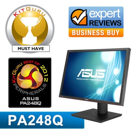 "Asus PA248Q 24"" Full HD Monitor"