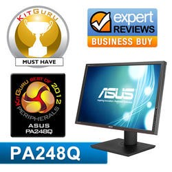 "GRADE A2 - Light cosmetic damage - Asus PA248Q 24"" Professional Pre-calibrated IPS 16_10 1920 x 1200 LED-backlit Monitor"
