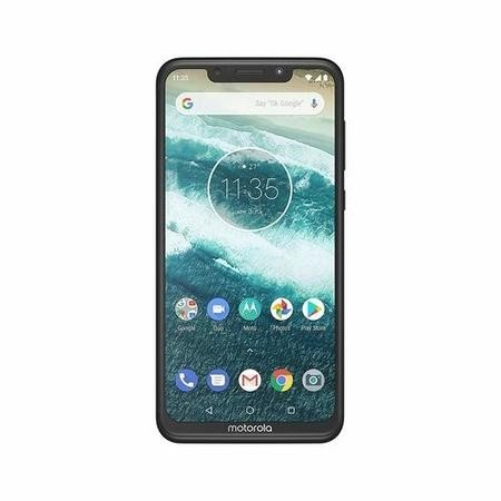 "PAD40002GB Motorola Moto One Black 5.9"" 64GB 4G Unlocked & SIM Free"