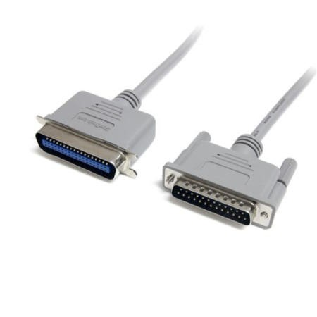 StarTech.com 6 ft DB25 to Centronics 36 Parallel Printer Cable - M/M