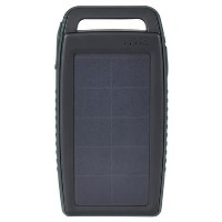 BoomPods Solaris Solar 10000mAh Powerbank Dark Grey