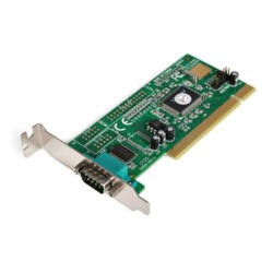 StarTech.com 1 Port PCI Low Profile RS232 Serial Adapter Card with 16550 UART