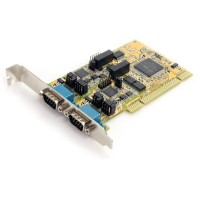 StarTech.com 2 Port RS232/422/485 PCI Serial Adapter Card w/ ESD Protection