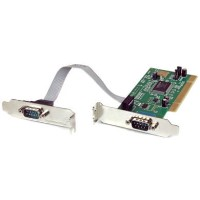 StarTech 2 Port PCI RS232 Serial Adapter Card with 16550 UART