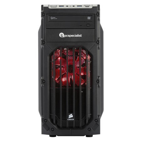 PC Specialist Core i5-6400 2.7GHz 8GB 1TB GeForce GTX 1060 3GB DVD-RW Windows 10 Gaming Desktop