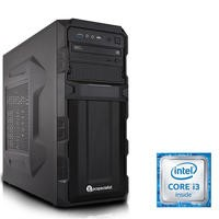 PC Specialist Core i3-6100 3.7GHz 8GB 1TB DVD-RW Windows 10 Desktop