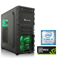 PC Specialist Core i5-7400 8GB 1TB NVIDIA GTX 1060 DVD-RW Windows 10 Gaming Desktop