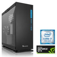 PC Specialist Core i7-7700K 16GB 3TB 240GB SSD GeForce GTX 1080 Windows 10 Gaming Desktop