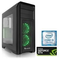 PC Specialist Osiris Infiltrator Core i7-7700K 16GB 3TB + 256GB SSD GeForce GTX 1080Ti Windows 10 Gaming Desktop