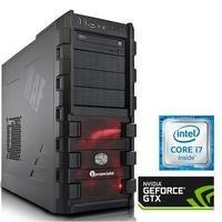 PC Specialist Osiris Xtreme II Core i7-6700 3.4 GHz 16GB 2TB + 240GB SSD Nvidia GTX 1080 8GB DVD-RW Windows 10 Gaming Desktop