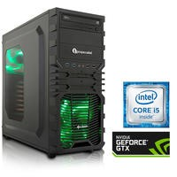 PC Specialist Osiris Impact Core i5-6400 2.7GHz 8GB 1TB SSHD Nvidia GeForce GTX 1060 6GB DVD-RW Windows 10 Gaming Desktop