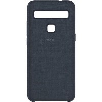 TCL 10 Lite Cloth Case Dark Blue