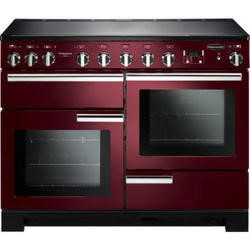 Rangemaster 101570 Professional Deluxe 110cm Electric Range Cooker With Induction Hob - Cranberry