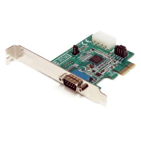 StarTech.com 1 Port Native PCI Express RS232 Serial Adapter Card with 16950 UART