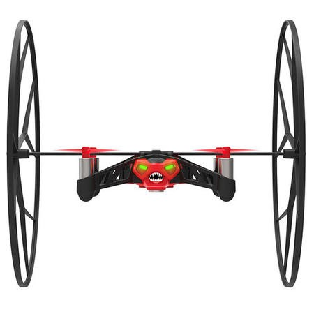Parrot Mini Drone Rolling Spider - Red
