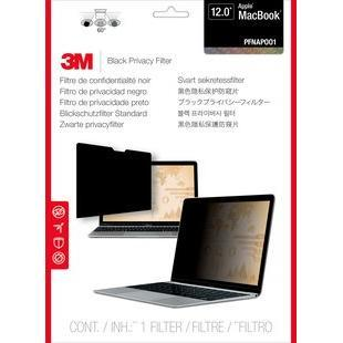 "3M Black Frameless Laptop Privacy Filter -  MacBook12 12"" 16_10"