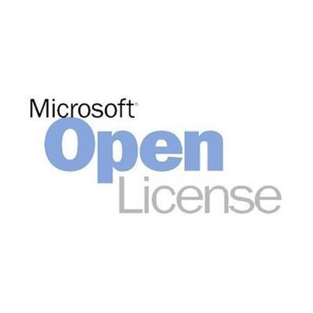 Microsoft® Exchange Enterprise CAL Single Software Assurance OPEN 1 License Level C User CAL User CAL Without Services