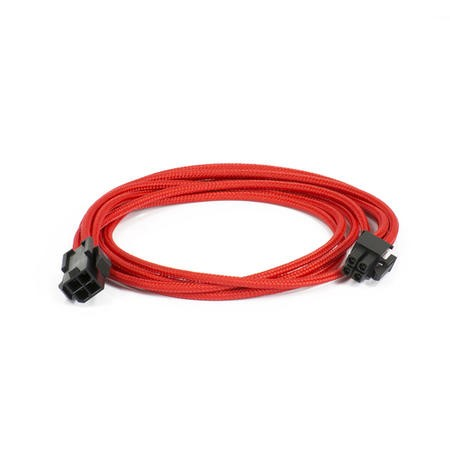 Phanteks Molex Cable Extension 50cm - Sleeved Red