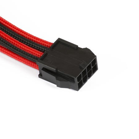 Phanteks 8-Pin EPS12V Cable Extension 50cm - Sleeved Black & Red